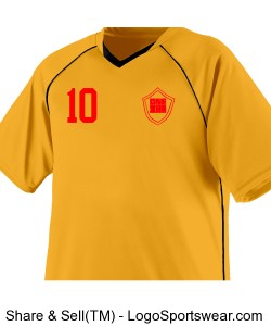 Youth Striker Soccer Jersey Design Zoom