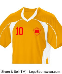 Youth Header Soccer Jersey by Teamwork Design Zoom